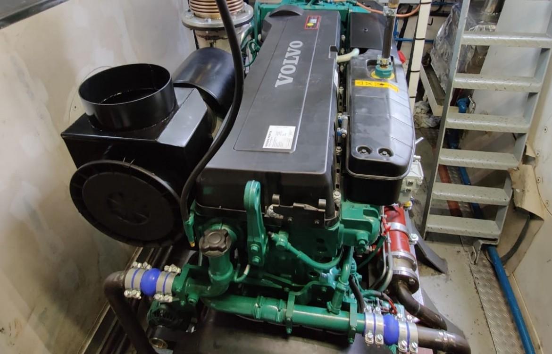 Volvo Penta motor voor de hermotorisering van de Gruno-1