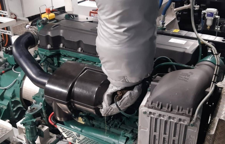 Volvo Penta Marine Dieselmotor type D13B-N MH (FE)