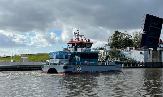Twee Volvo Penta motoren voor Offshore Waddenzee Acta Marine | Haisma Scheeps- en industriemotoren